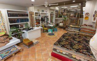 fotografia tienda alfombras vigo